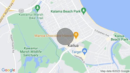 Cute Ohana Unit With AC in Kailua Near the Beach!! Map