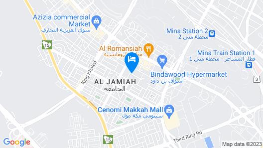 Diyafat Al Haramain Apartments 1 Map