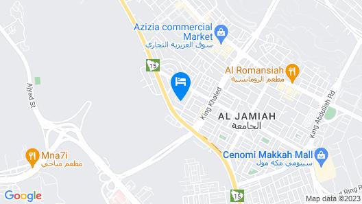 Diyafat Al Haramain Map