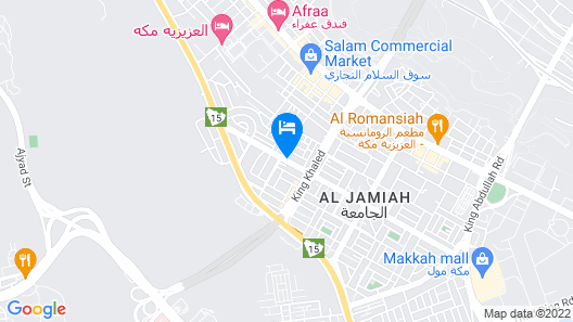 Diyafat Al Haramain - Dar Al Ayad Map