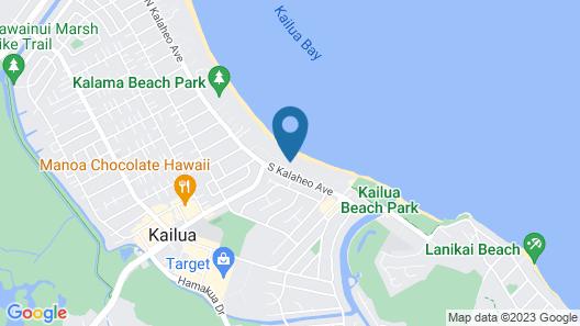 Kailua Shores 8 Bedroom Estate Map