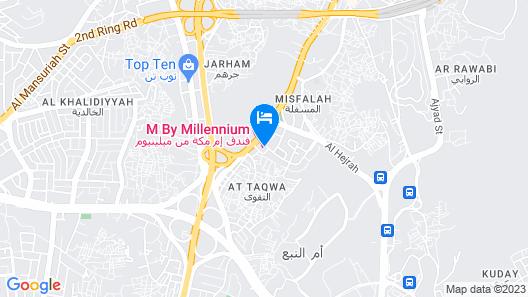 M Hotel Makkah by Millennium Map