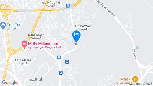 Makarem Al Shorofat Map