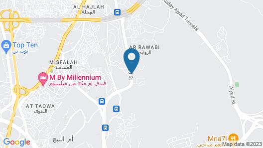 Makarem Umm Alqura Hotel Map