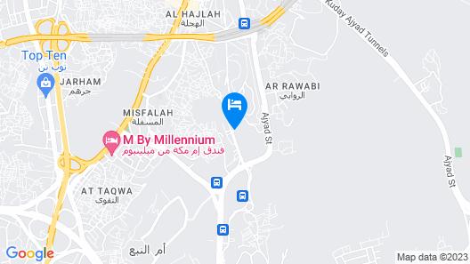 Le Meridien Towers Makkah Map
