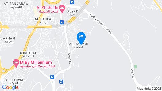 Elaf Al Salam Hotel Map