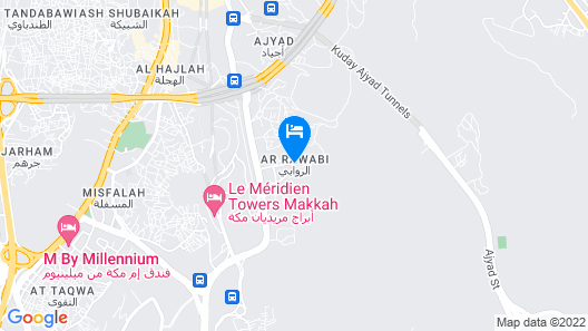 Forsan Al Aseel Hotel Map