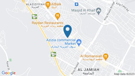 Revan Hotel Map
