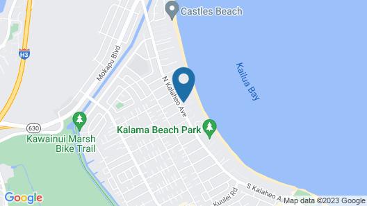Villa Makena Map
