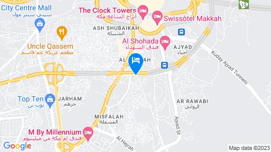Al Manar Hotel Map