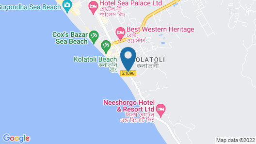 Hotel Suite Sadaf Map