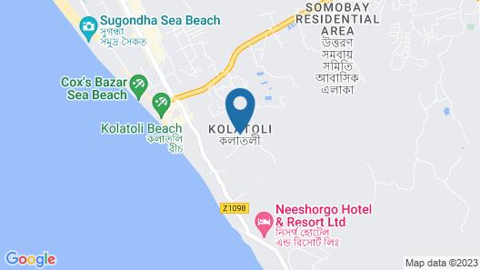 Cox's Inn Map