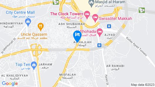 Al Massa Bader hotel Map