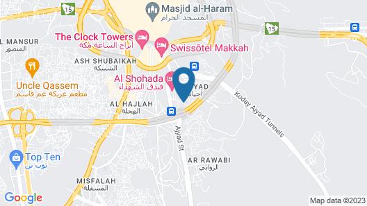 Zahrat Al Salah Map