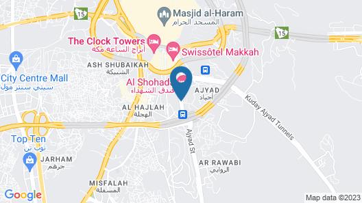 Markad Ajyad  Hotel Map