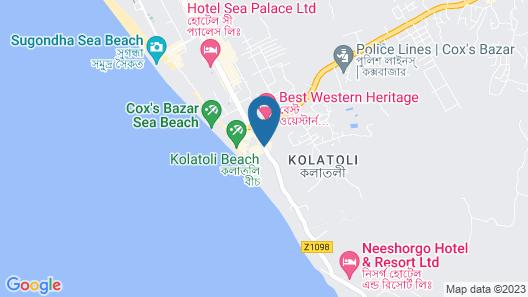 Sayeman Beach Resort Map