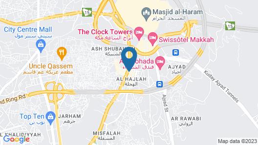 Al Nosour Al Zahabi Hotel Map