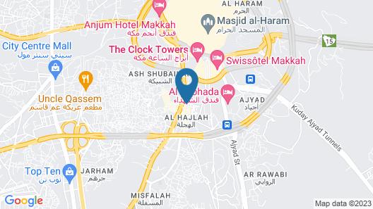 Al Nosour Al Mohajreen Hotel Map