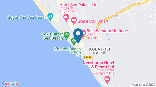 Hotel Sea Uttara Map