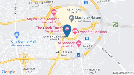 Swissôtel Al Maqam Makkah Map