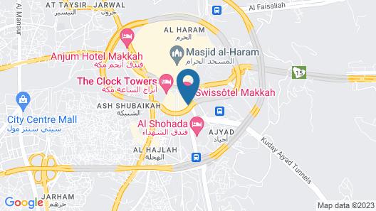 Swissôtel Makkah Map