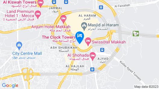 Elaf Kinda Hotel Map