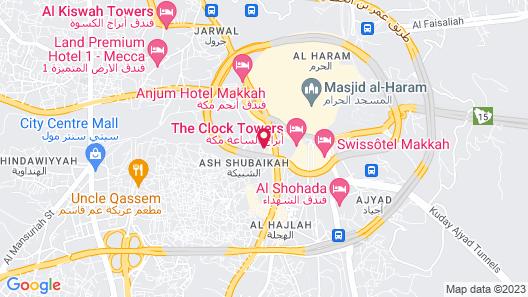 Conrad Makkah Map