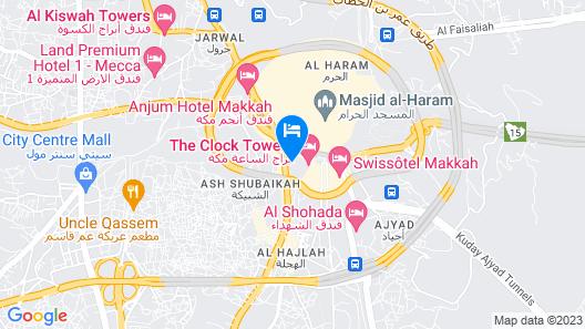Movenpick Hotel & Residence Hajar Tower Makkah Map