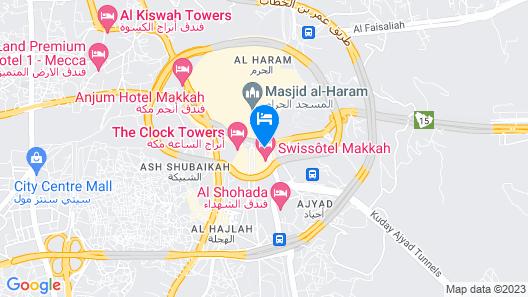 Al Safwah Royale Orchid Map