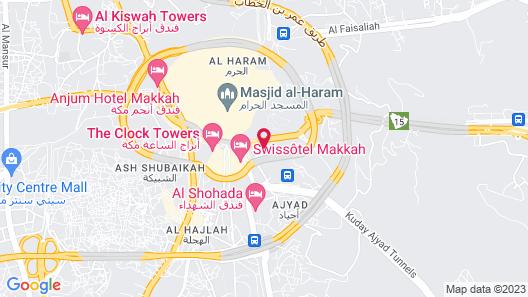 Al Massa Hotel Map