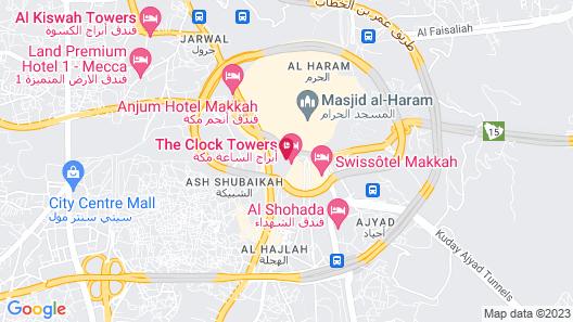 Makkah Towers Map