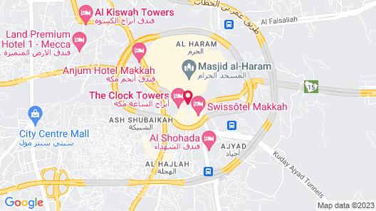 Raffles Makkah Palace Map
