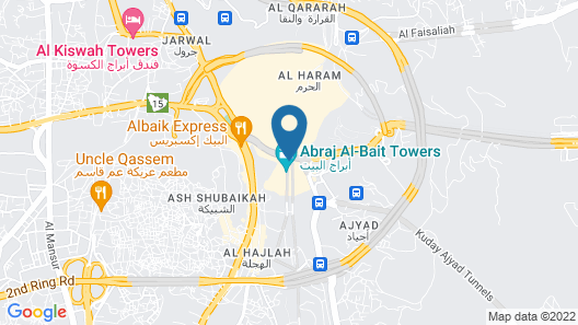 Raffles Makkah Palace Map