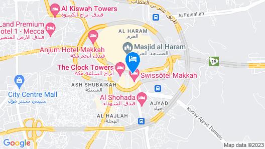 Al Marwa Rayhaan by Rotana Map