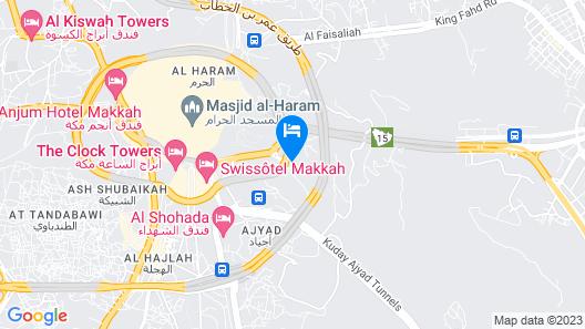 Dar Al Eiman Al Sud Hotel Map