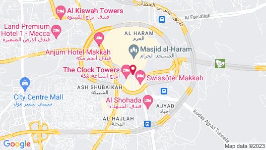 Swissotel Makkah Map