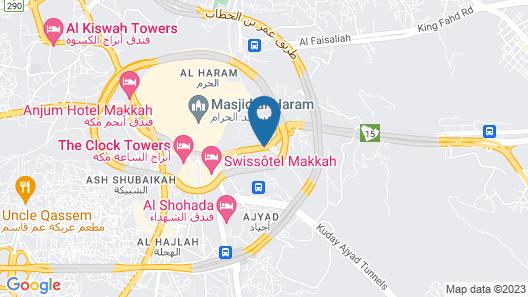Azka Al Safa Hotel Map