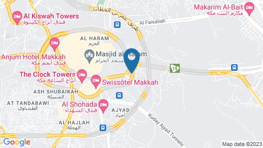 Qasr Ajyad Alsad Hotel Map
