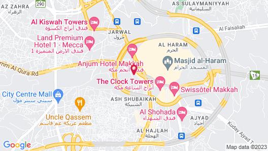 DoubleTree by Hilton Makkah Jabal Omar Map