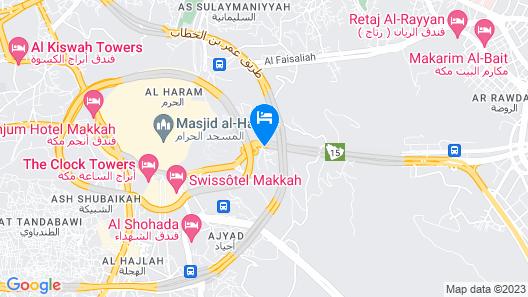 Al Tawfiq Plaza Hotel Map