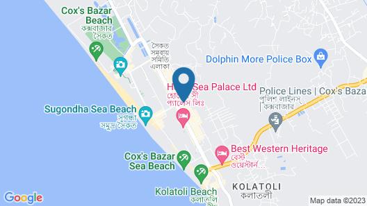 Hotel Regal Palace Map
