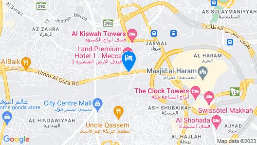 Al Shahba Hotel Makkah Map