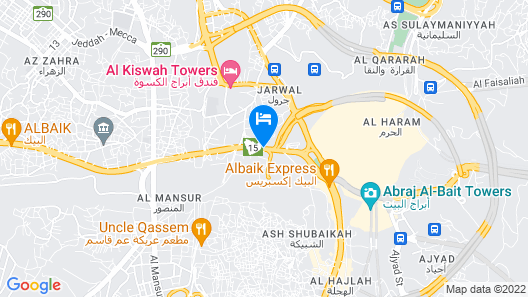 Hibatullah Hotel Makkah managed by Accorhotels  Map