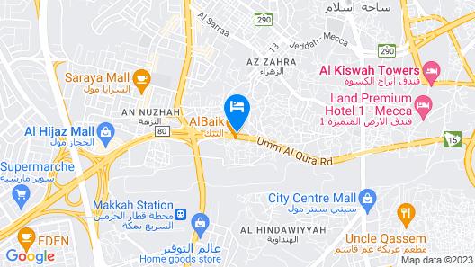 Rehab Al Steen Hotel Map