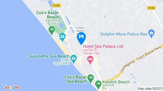 Long Beach Hotel Map