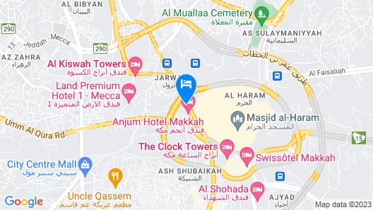 Shaza Makkah Map