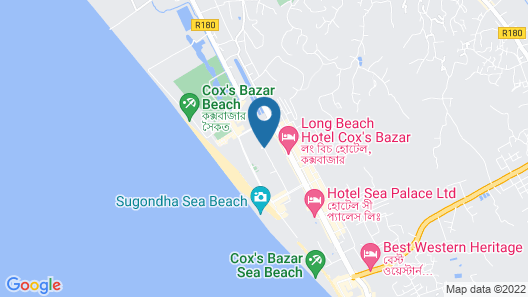 Hotel The Cox Today Map
