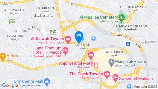 OYO 372 Nawazi Watheer Hotel Map