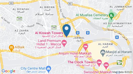 Al Kiswah Towers Hotel Map