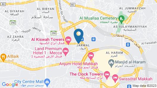 Manazel Al-Hamd Map